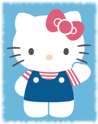 Hello Kitty real name saying hello