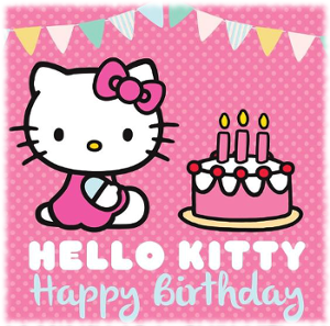 Picture of Hello Kitty Having A Birthday