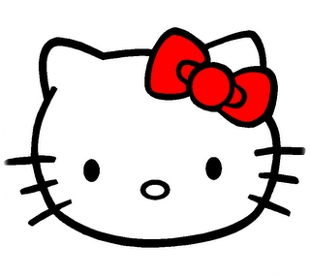 Picture of Hello Kitty no mouth